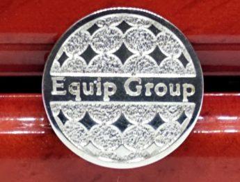 Значок из серебра для компании Equip Group