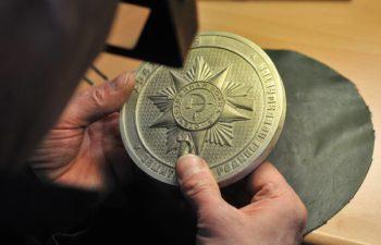 Изготовление медалей из серебра