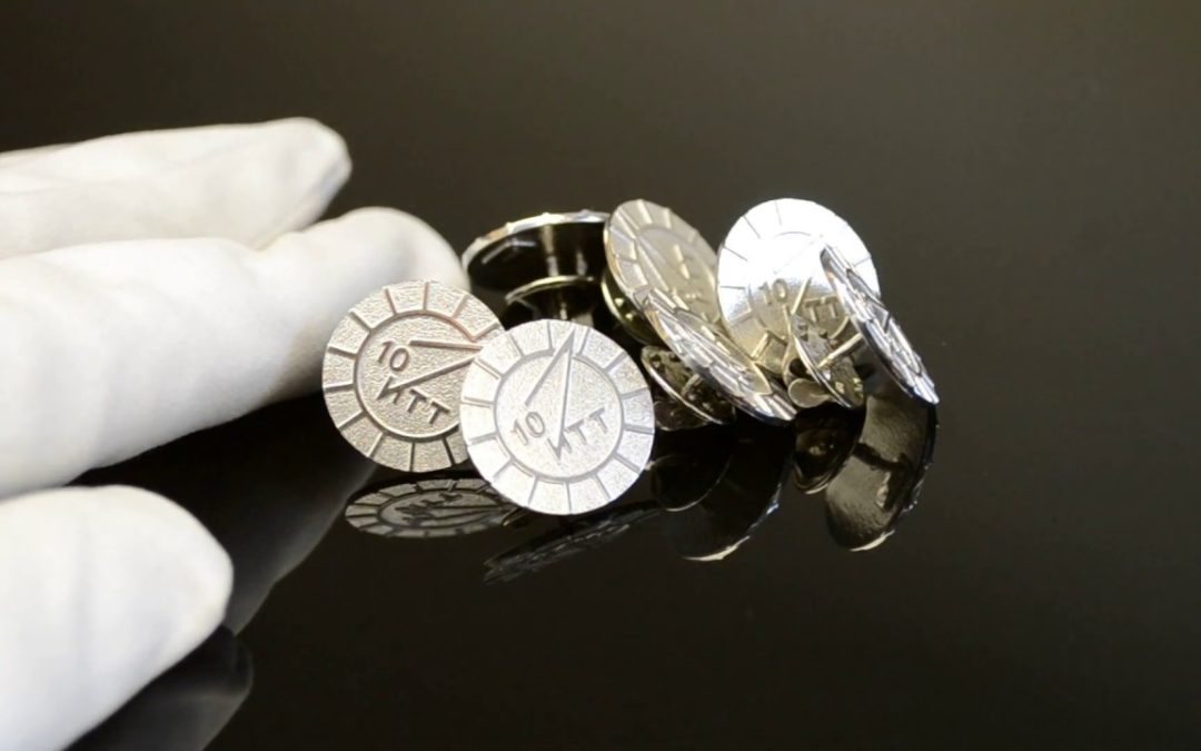 Значки из серебра