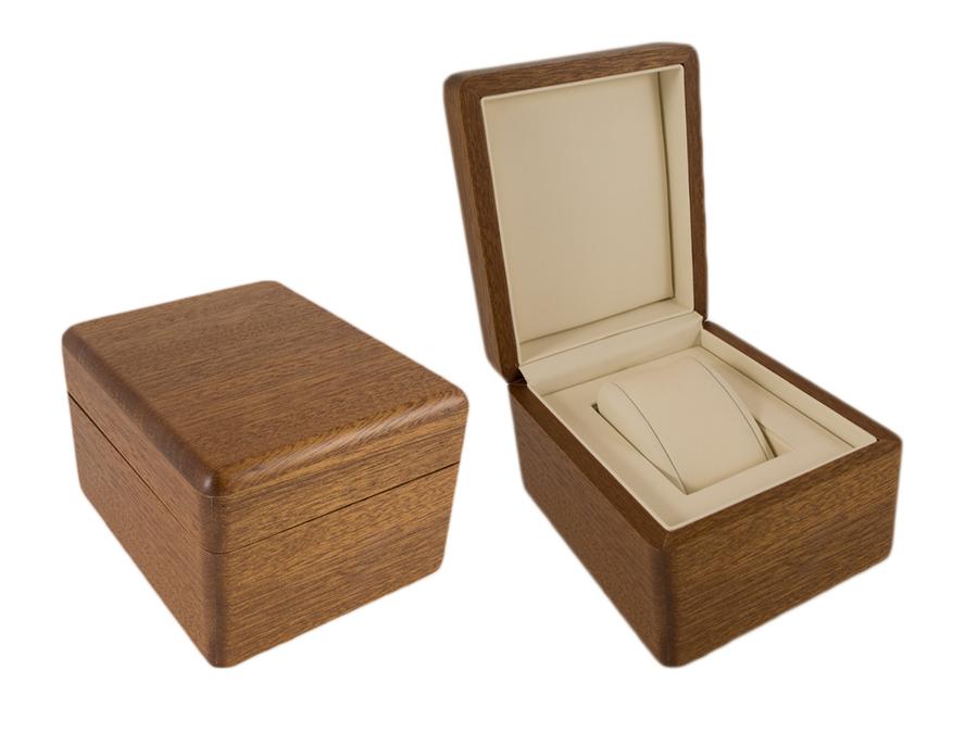 деревянная коробка для часов из бука