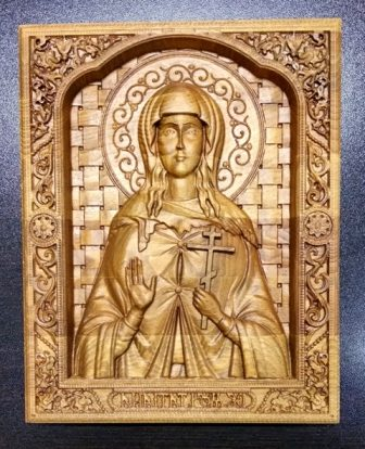 икона святой Татьяны Великомученицы