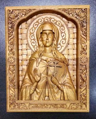 Православная икона святой Татьяны Великомученицы