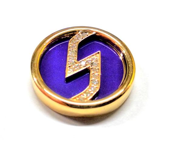 Корпоративный значок из золота Инком
