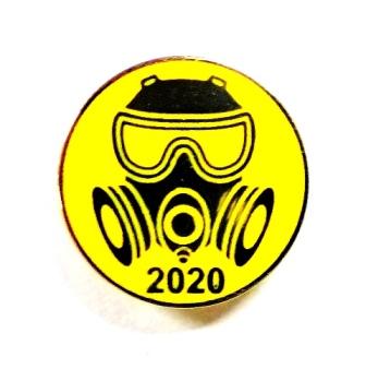 Значок из металла с логотипом Ликвидатор